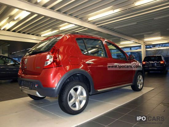 2010 dacia sandero stepway 1 6 car photo and specs. Black Bedroom Furniture Sets. Home Design Ideas