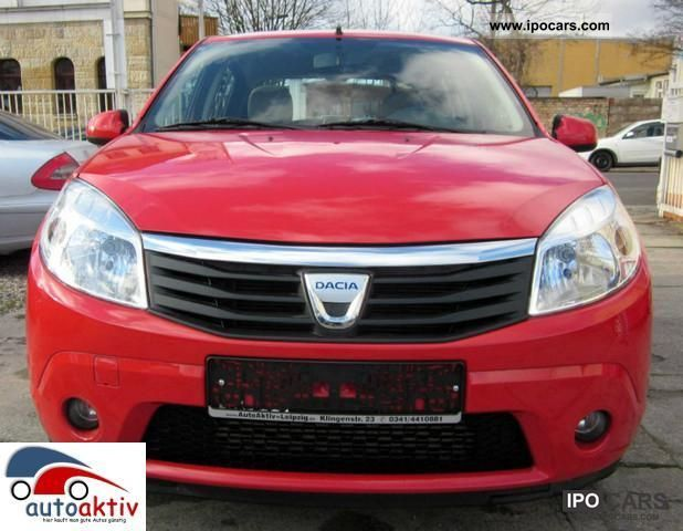 2010 dacia sandero 1 5 dci 90 prestige climate. Black Bedroom Furniture Sets. Home Design Ideas