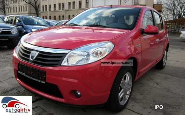 2010 dacia sandero 1 5 dci 90 prestige climate aluminum 4efh r cd car photo and specs. Black Bedroom Furniture Sets. Home Design Ideas