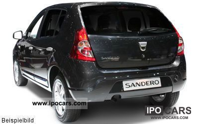 2010 dacia eco sandero 1 2 16v 75 hp car photo and specs. Black Bedroom Furniture Sets. Home Design Ideas