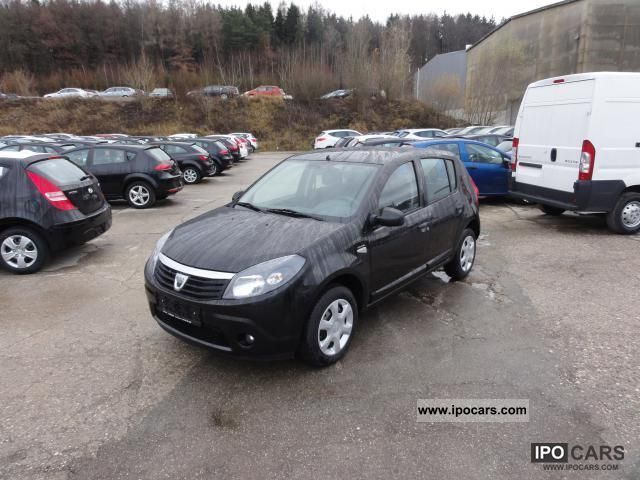 2010 dacia sandero 1 2 16v blackline 55kw 75ps euros 5 e car photo and specs. Black Bedroom Furniture Sets. Home Design Ideas