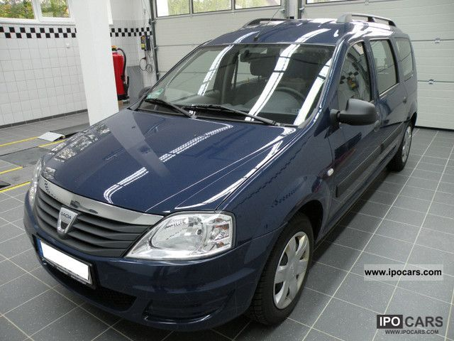 Dacia  Logan MCV 1.6 LPG 2009 Liquefied Petroleum Gas Cars (LPG, GPL, propane) photo