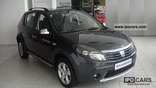 2012 dacia sandero stepway 1 6 mpi immediately car photo and specs. Black Bedroom Furniture Sets. Home Design Ideas