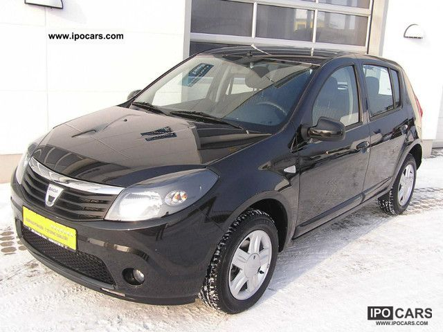 2010 dacia sandero 1 2 16v car photo and specs. Black Bedroom Furniture Sets. Home Design Ideas