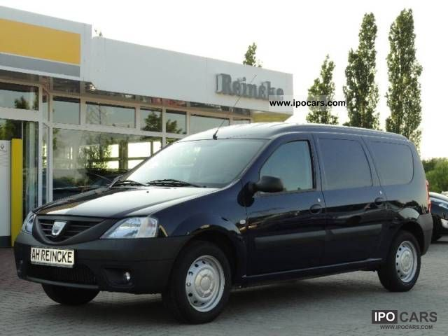 2011 dacia logan van 84ps 1 6 zv climate with fb car photo and specs. Black Bedroom Furniture Sets. Home Design Ideas