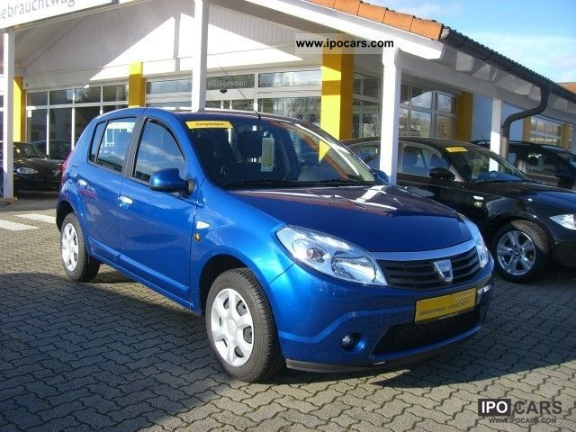 2010 dacia sandero 1 5 dci laureate car photo and specs. Black Bedroom Furniture Sets. Home Design Ideas