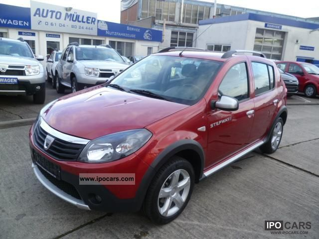 2010 dacia sandero 1 6 mpi stepway klima gr ne badge. Black Bedroom Furniture Sets. Home Design Ideas