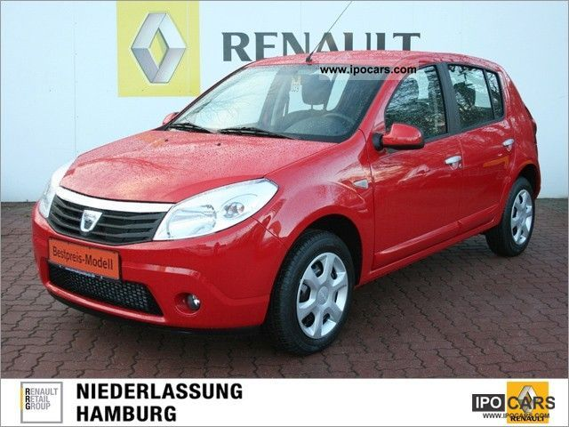2012 Dacia  Sandero 1.5 dCi 75 FAP Laureate eco ² Estate Car Demonstration Vehicle photo
