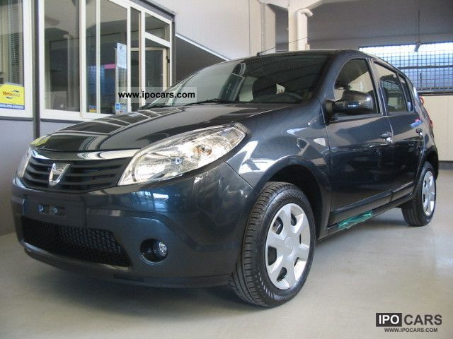 Dacia  Sandero 1.6 BLACKLINE GPL \ 2012 Liquefied Petroleum Gas Cars (LPG, GPL, propane) photo
