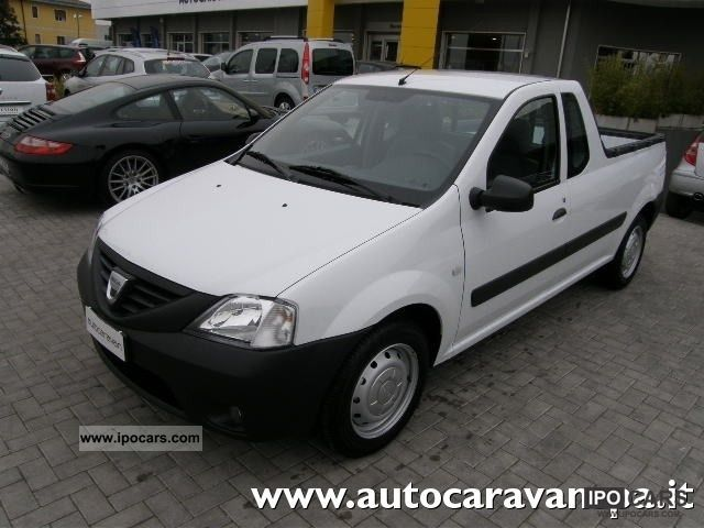 Dacia  Logan Pick-Up 6.1 GPL CASSONE 2012 Liquefied Petroleum Gas Cars (LPG, GPL, propane) photo