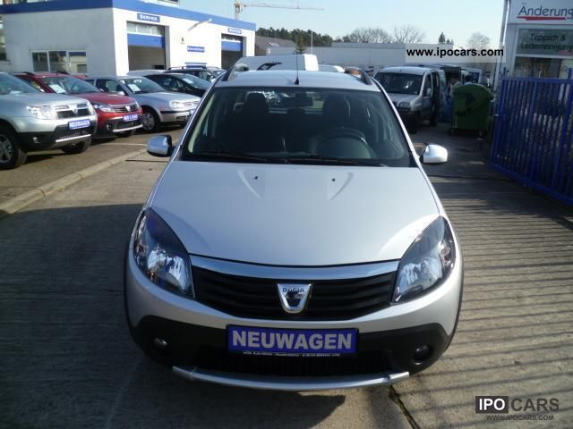 2012 dacia sandero 1 6 mpi stepway klima neuwagen tgzull. Black Bedroom Furniture Sets. Home Design Ideas