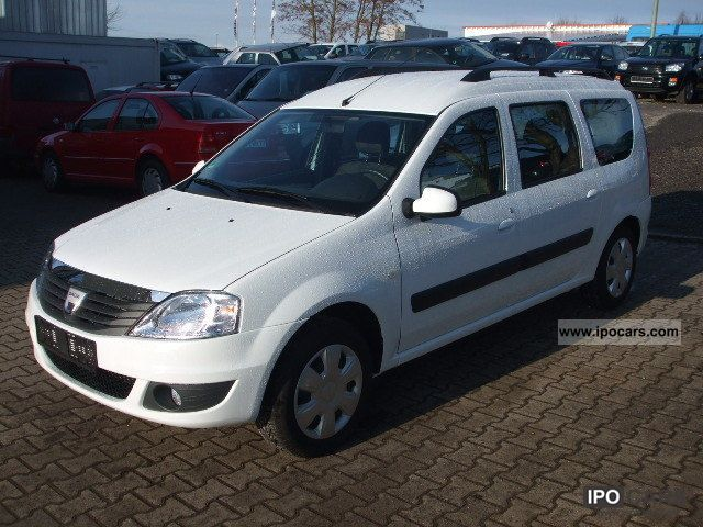 Dacia  Logan MCV 1.6 LPG Laureate Air 5 seats 2010 Liquefied Petroleum Gas Cars (LPG, GPL, propane) photo