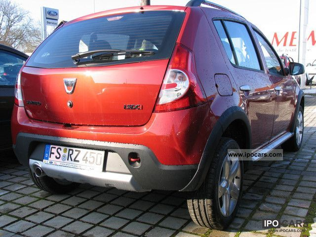 2012 dacia sandero stepway dci 90 car photo and specs. Black Bedroom Furniture Sets. Home Design Ideas