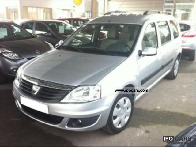 2009 dacia logan mcv dci 85 eco2 5 places prestige car photo and specs. Black Bedroom Furniture Sets. Home Design Ideas