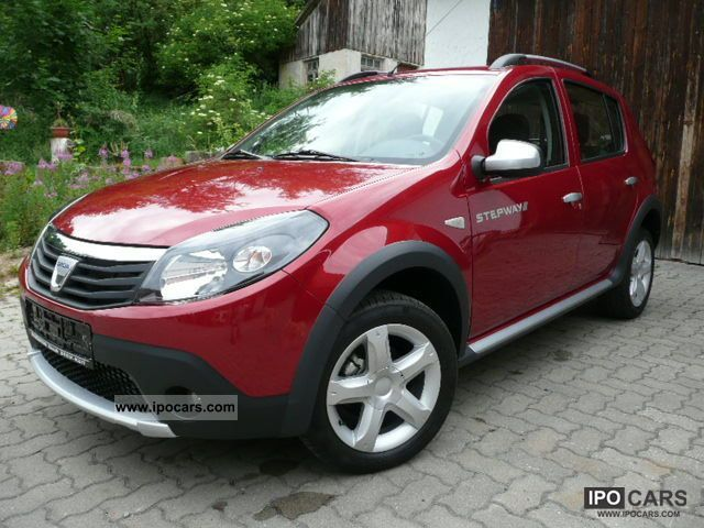 2012 dacia sandero stepway sound 1 5 dci air now car photo and specs. Black Bedroom Furniture Sets. Home Design Ideas