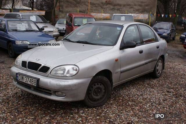 2000 Daewoo Lanos SEDAN! ! ! - Car Photo and Specs