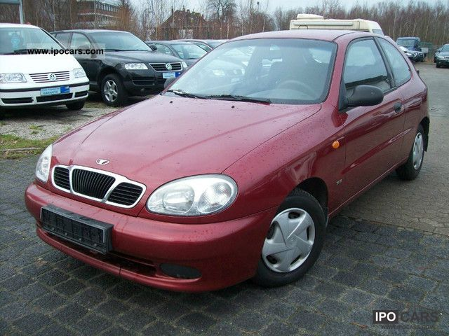 2002 Daewoo Lanos 1.5 SE - Car Photo and Specs