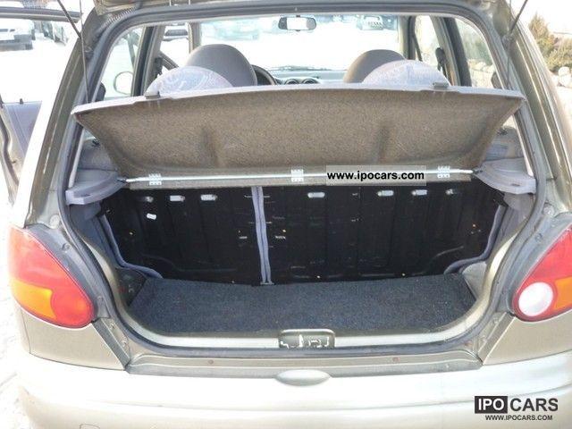 2003 Daewoo Matiz - Car Photo and Specs