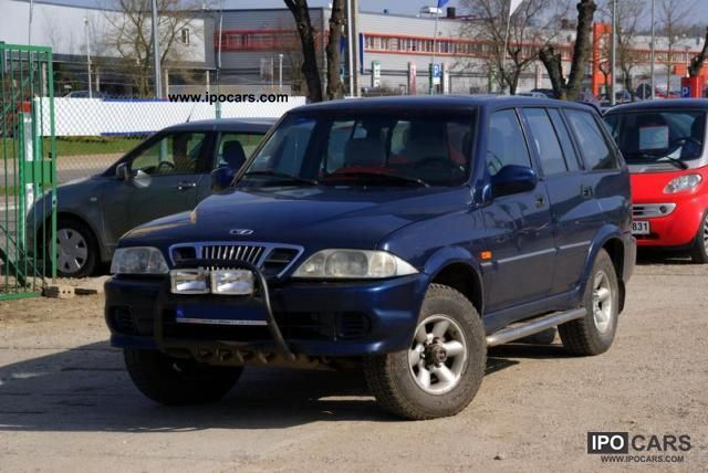 1998 Daewoo Musso 2.9 TD 4X4 Off-road Vehicle/Pickup Truck