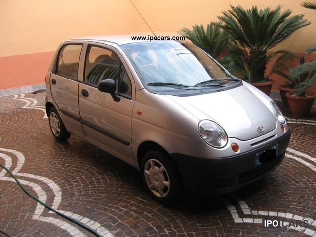 2004 Daewoo matiz - Car Photo and Specs