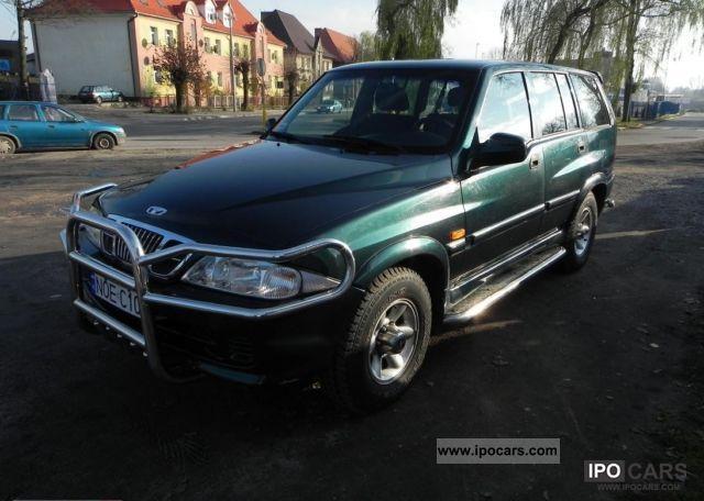 1999 daewoo musso 2 9 diesel 4x4 okazja olecko car photo. Black Bedroom Furniture Sets. Home Design Ideas