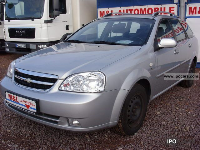 Daewoo  Lacetti 1.6 SX AUTO GAS climate 2005 Liquefied Petroleum Gas Cars (LPG, GPL, propane) photo