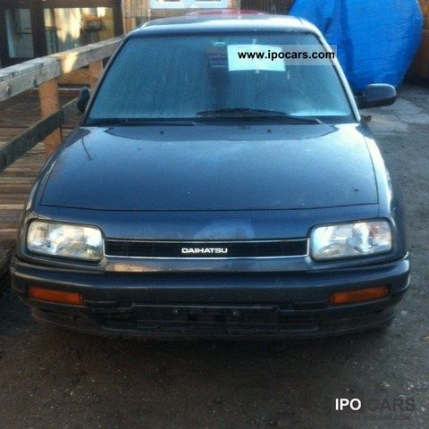 1992 daihatsu applause xi 16v offer car photo and specs. Black Bedroom Furniture Sets. Home Design Ideas