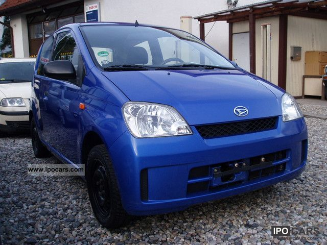 2003 Daihatsu  Cuore 1.0 Top Air Power EFH 1.Hand * Near F / dc * Small Car Used vehicle photo