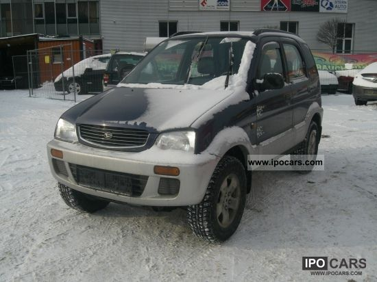 1998 Daihatsu  Terios 3.1 CLIMATE 5 door Off-road Vehicle/Pickup Truck Used vehicle photo