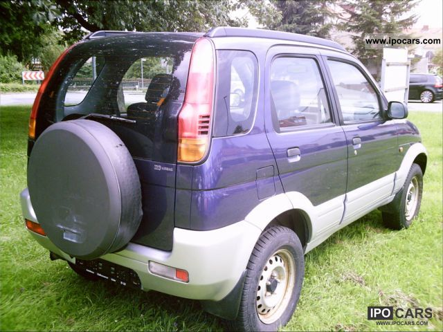1997 daihatsu terios 2 standard car photo and specs. Black Bedroom Furniture Sets. Home Design Ideas