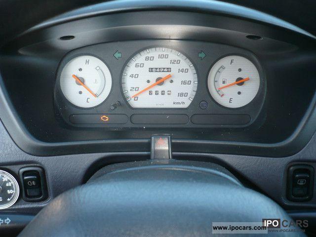 2001 Daihatsu Terios 1 3l Petrol 4x4 Apc Euro3 Car Photo