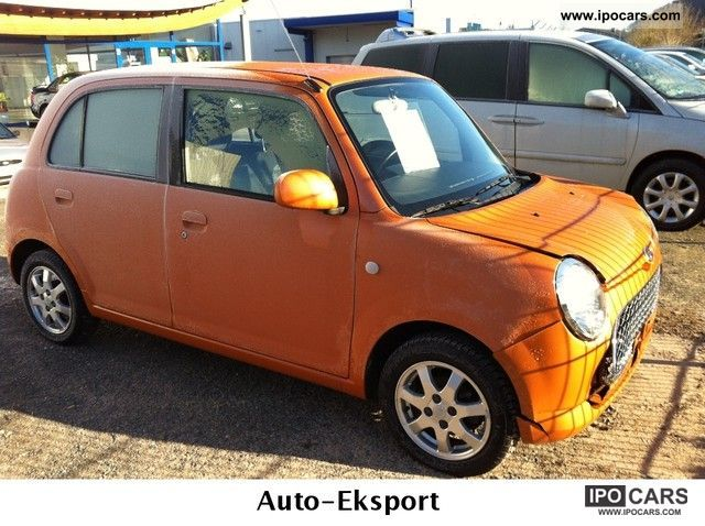 2007 daihatsu trevis 1 0 first hand car photo and specs. Black Bedroom Furniture Sets. Home Design Ideas
