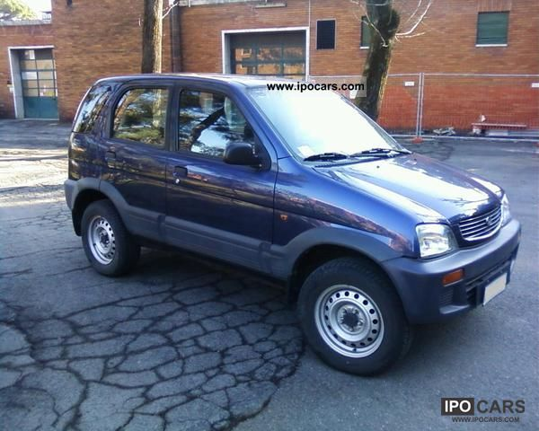 1998 Daihatsu  1.3i 4WD cat anno 1998 Benzina € 2 Ottima Off-road Vehicle/Pickup Truck Used vehicle photo