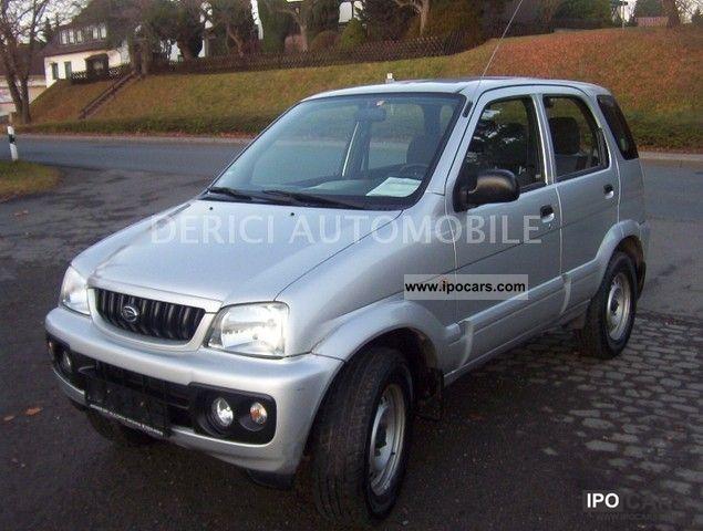 2002 Daihatsu  Terios Tüv ** / ** Au 12/2013 ** Limousine Used vehicle photo