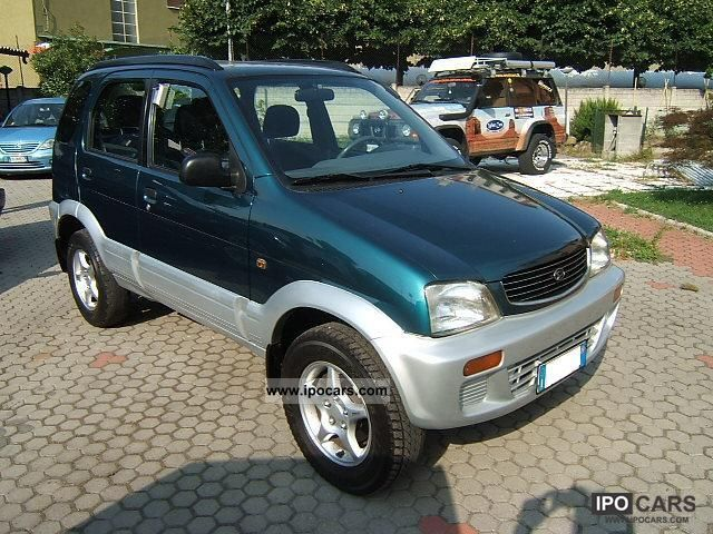 1998 Daihatsu  Terios SX Off-road Vehicle/Pickup Truck Used vehicle photo