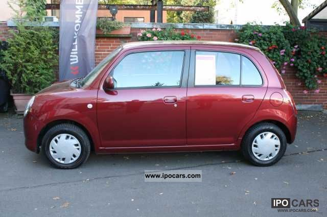 2008 daihatsu trevis 1 0 climate 5 door german car photo and specs. Black Bedroom Furniture Sets. Home Design Ideas