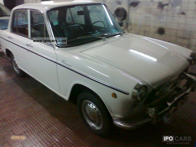 1966 Daihatsu 1000 Berlina Car Photo And Specs
