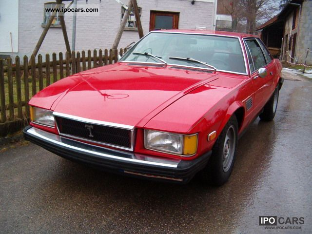 DeTomaso  Longchamp V8 m. Approval of an H-414!! 1976 Vintage, Classic and Old Cars photo
