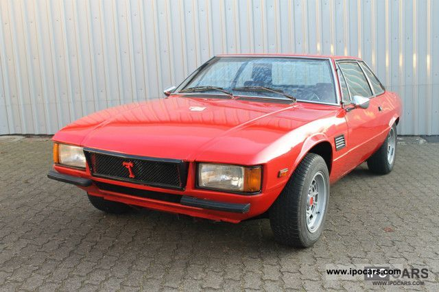 DeTomaso  Longchamp 1975 Vintage, Classic and Old Cars photo