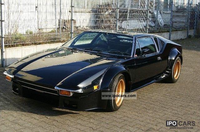 1972 DeTomaso  Pantera Group IV lens Sports car/Coupe Classic Vehicle photo