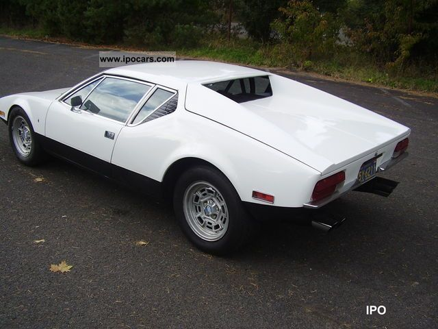DeTomaso  Pantera 1971 Vintage, Classic and Old Cars photo