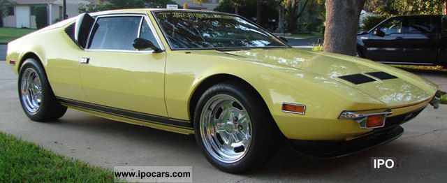 DeTomaso  Pantera Coupe 1972 Vintage, Classic and Old Cars photo