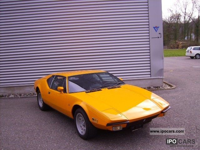 DeTomaso  Pantera 1973 Vintage, Classic and Old Cars photo