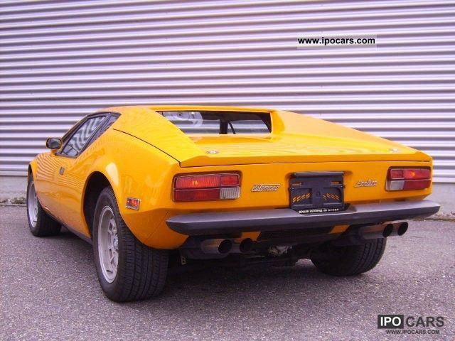 1973 DeTomaso Pantera  Car Photo and Specs