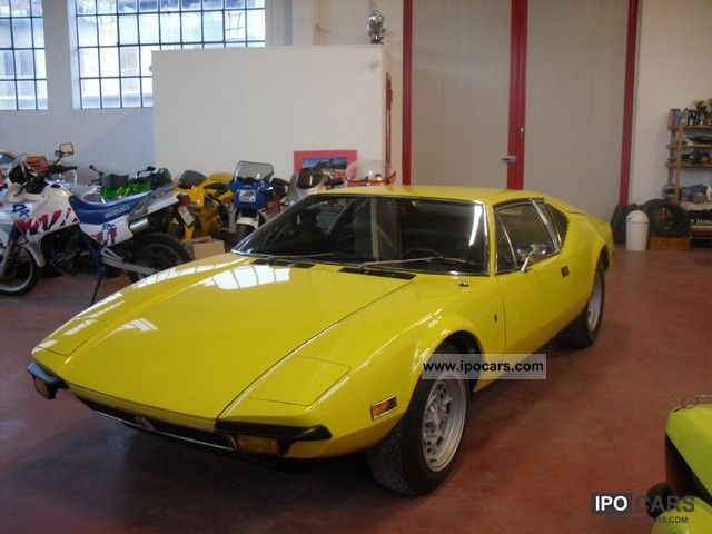 DeTomaso  GT 1973 Vintage, Classic and Old Cars photo