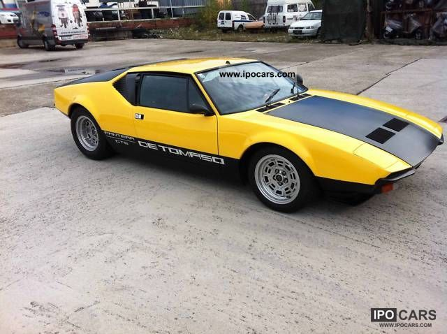 DeTomaso  GTS, Group 3 1978 Vintage, Classic and Old Cars photo