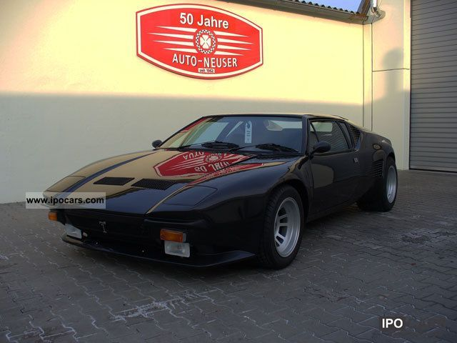 DeTomaso  Pantera factory-approved conversion Guppe 5S 1976 Vintage, Classic and Old Cars photo