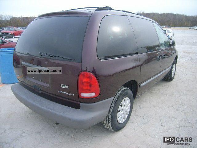 1996 Dodge Grand Caravan Car Photo And Specs