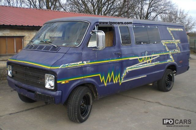 Dodge  van 1977 Vintage, Classic and Old Cars photo