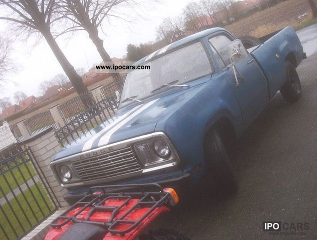 1976 Dodge  w200 Off-road Vehicle/Pickup Truck Used vehicle photo